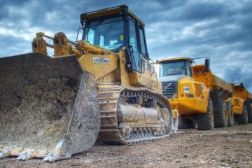 Обеспечение объектов строительными машинами, механизмами и инвентарем