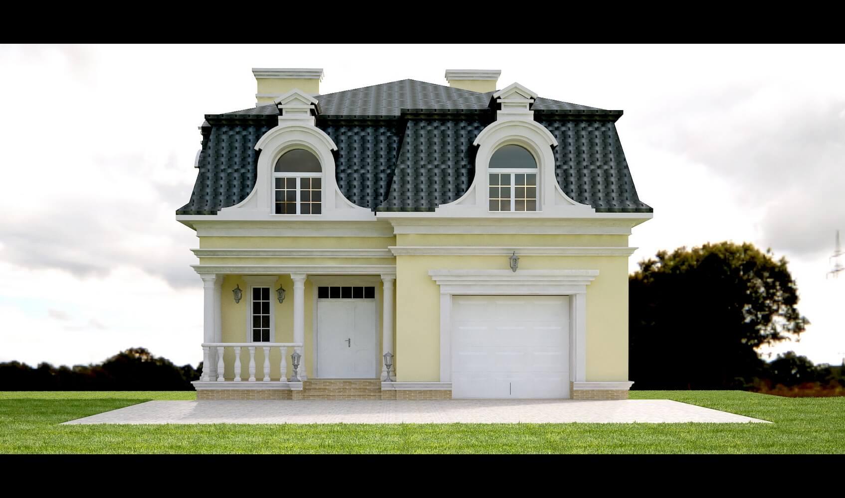 Дом в классическом стиле (изображение 1)