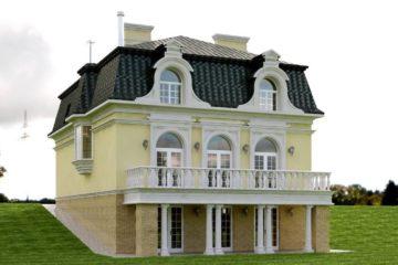Дом в классическом стиле (превью)