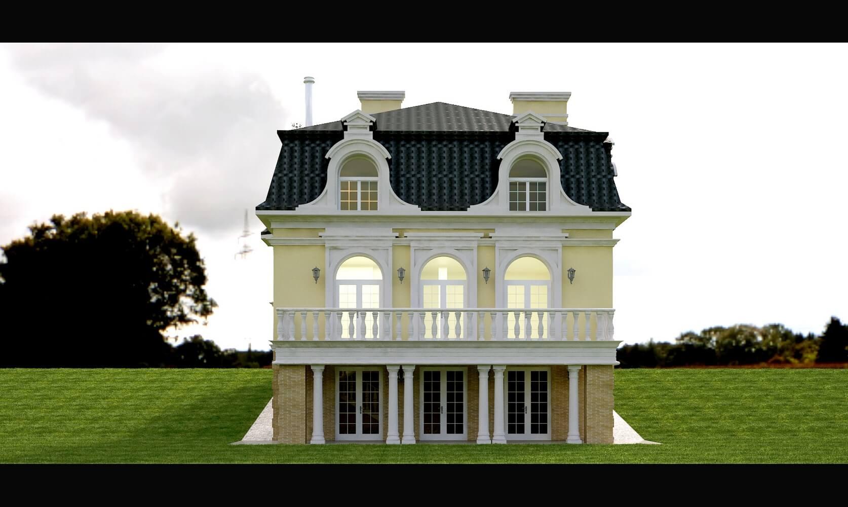 Дом в классическом стиле (изображение 2)