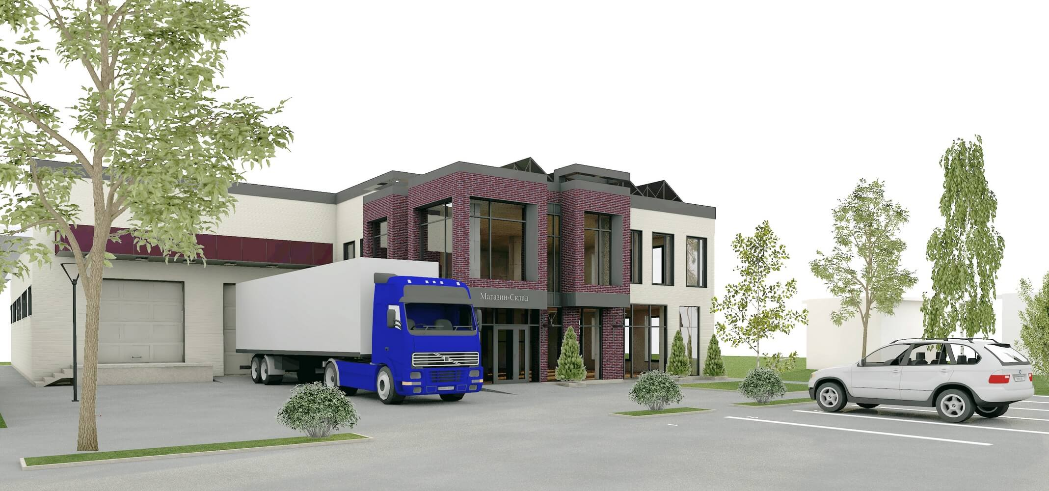 Проект магазина-склада (изображение 6)