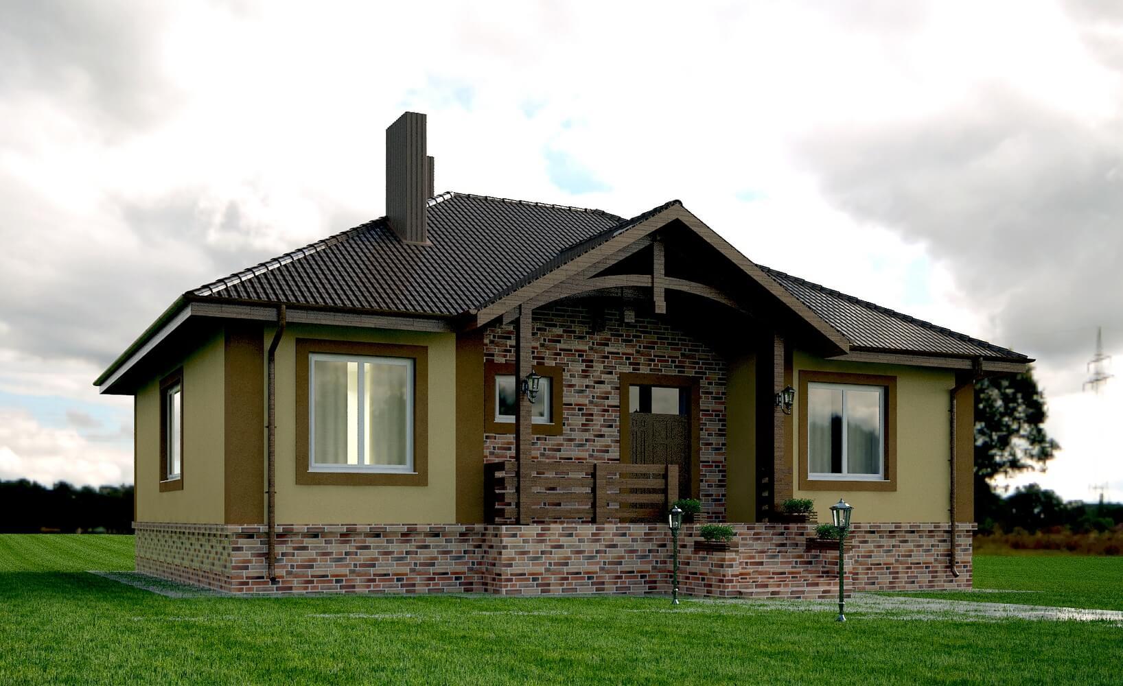 Современный частный дом (изображение 1)