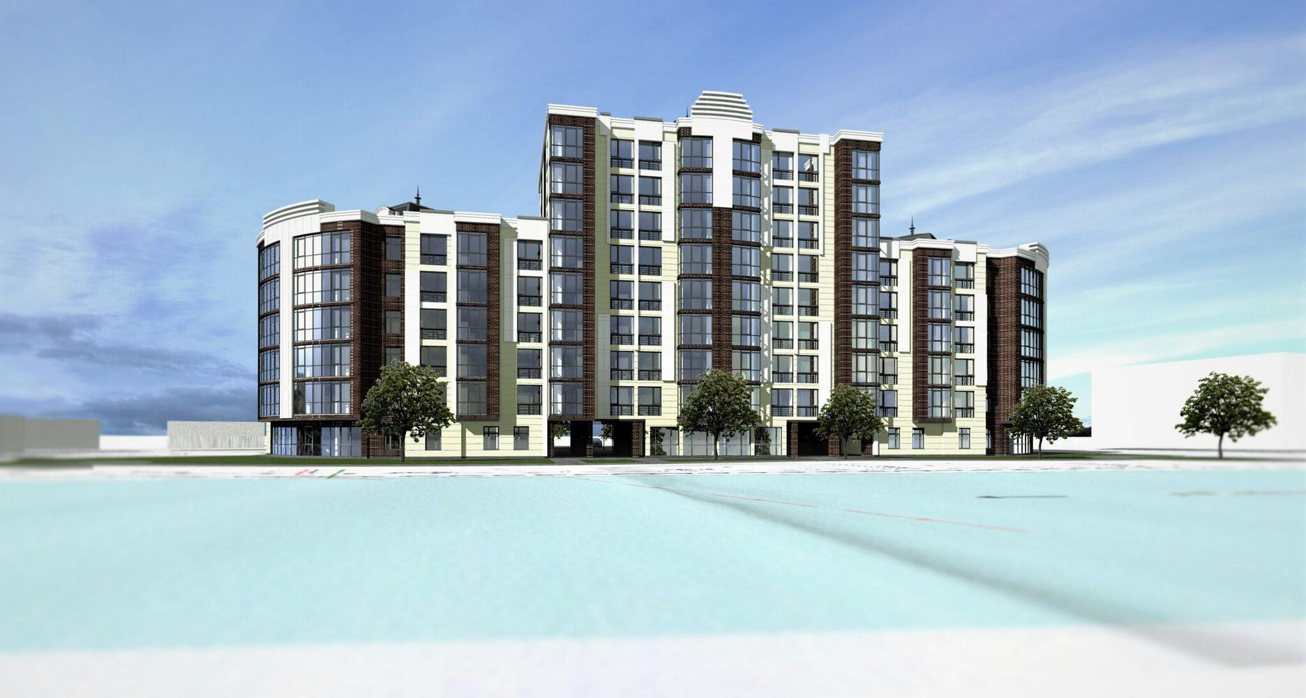 Проект многоэтажного здания (изображение 5)