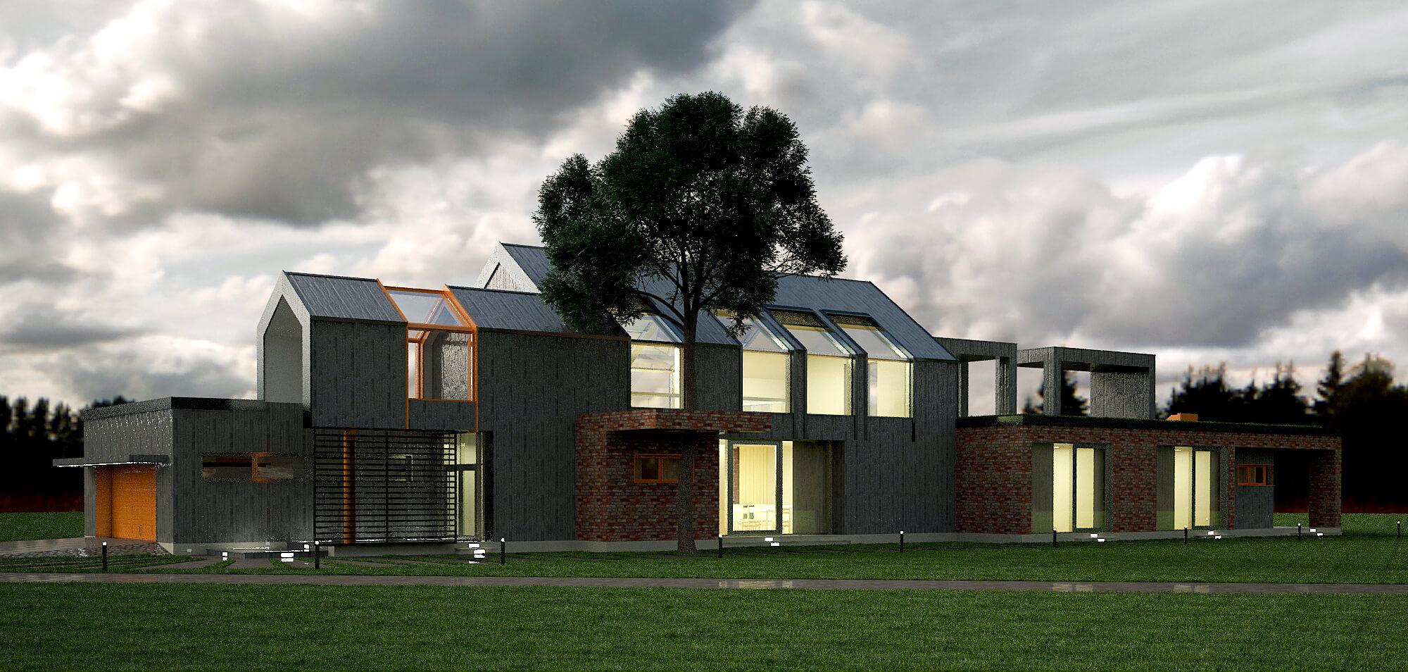Современный загородный дом (изображение 6)