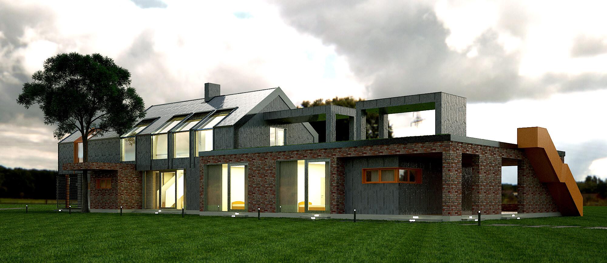 Современный загородный дом (изображение 7)
