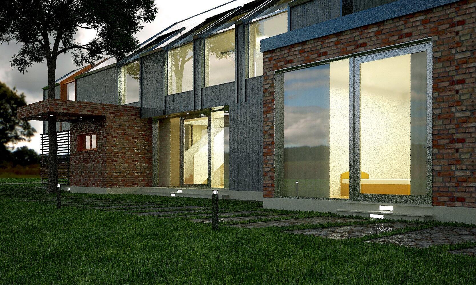 Современный загородный дом (изображение 2)