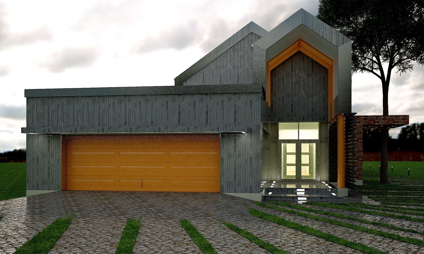 Современный загородный дом (изображение 3)