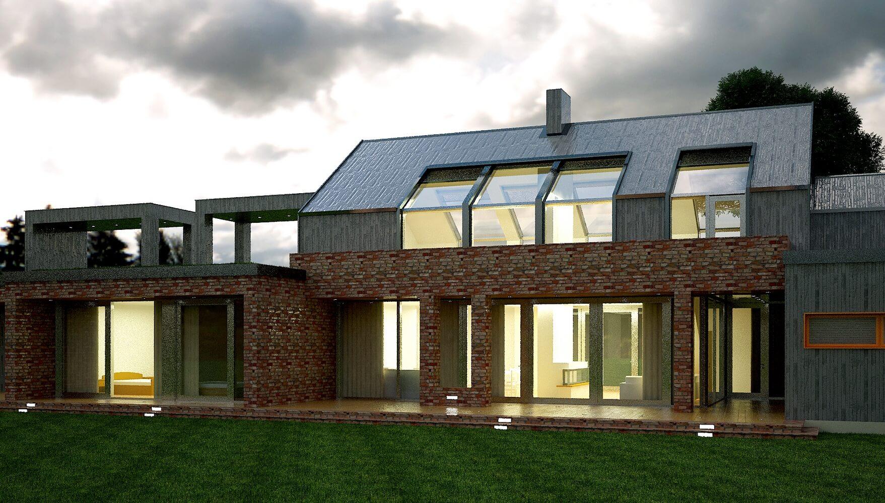 Современный загородный дом (изображение 4)