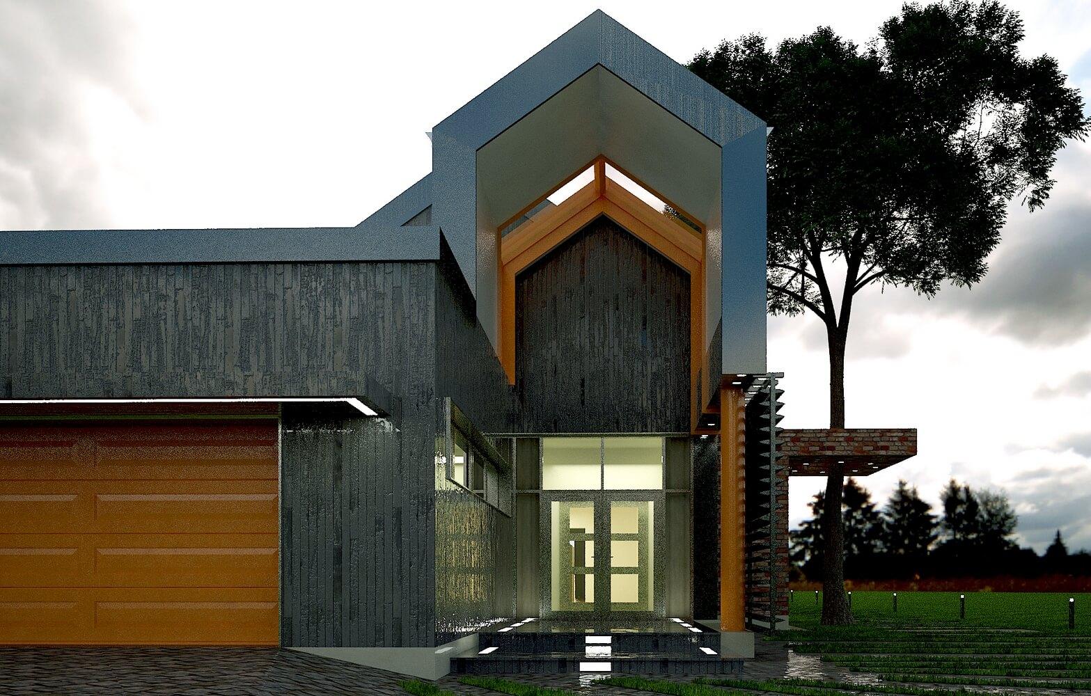 Современный загородный дом (изображение 5)