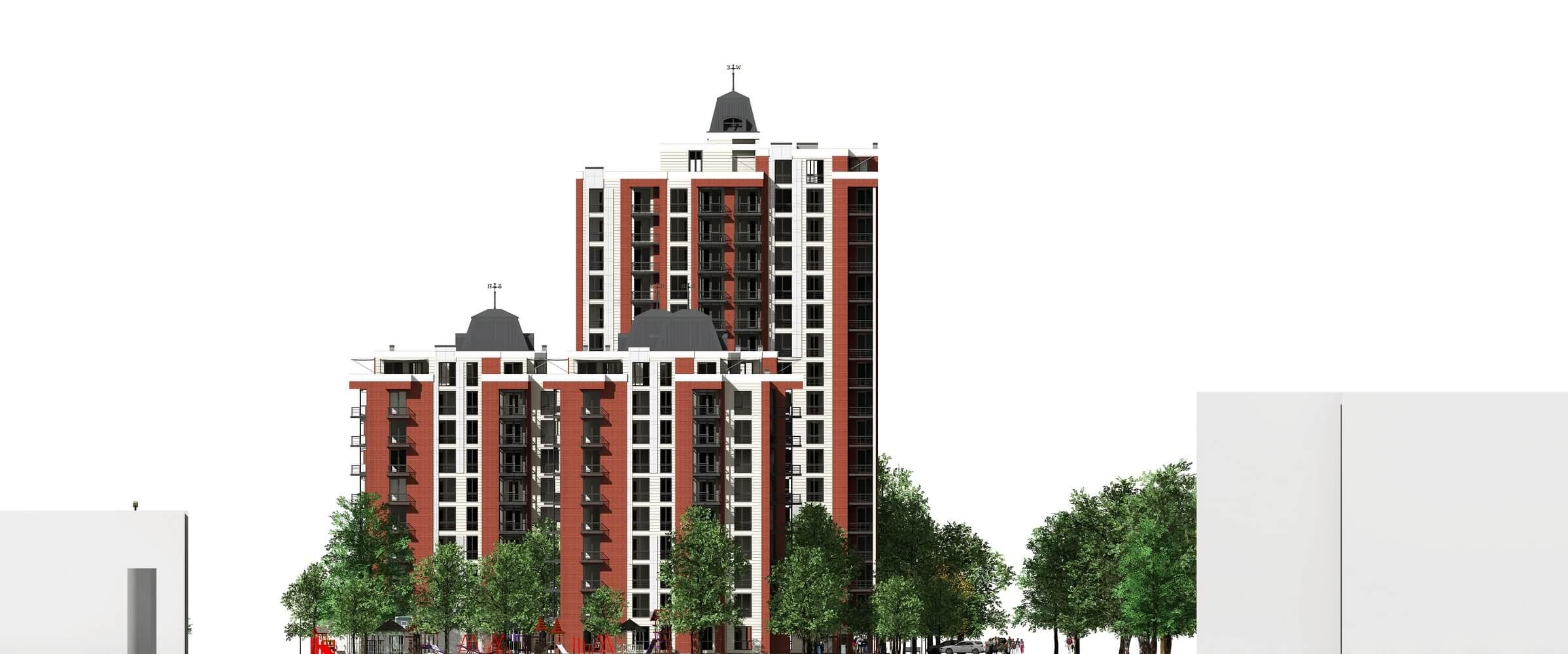 Проект многоквартирного дома (изображение 12)