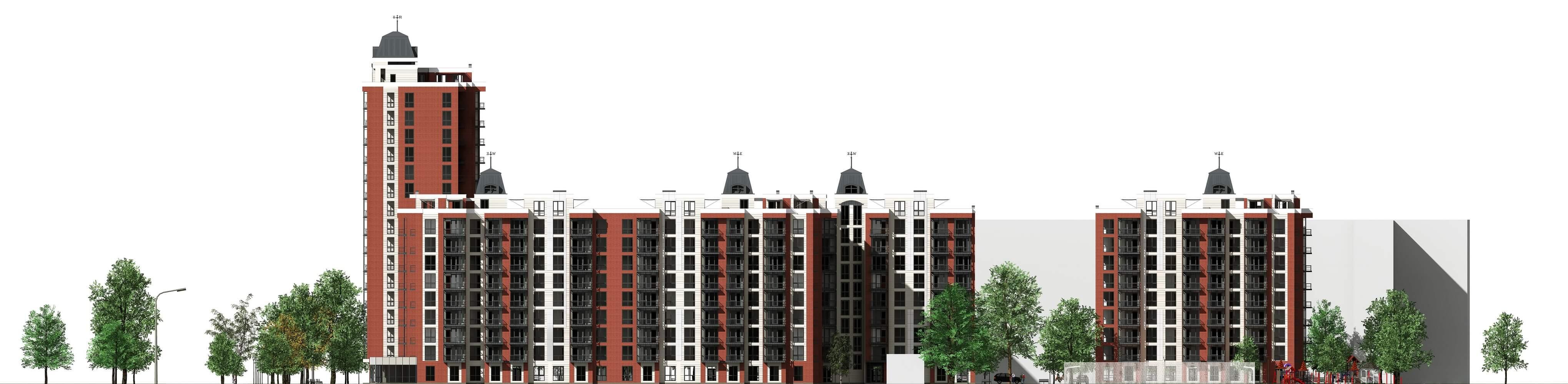 Проект многоквартирного дома (изображение 13)