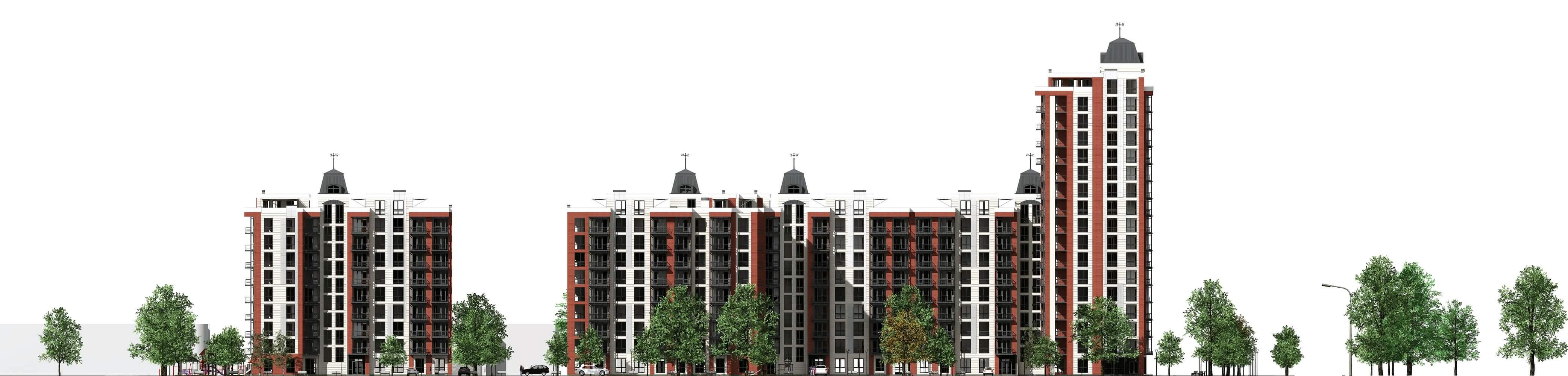 Проект многоквартирного дома (изображение 14)