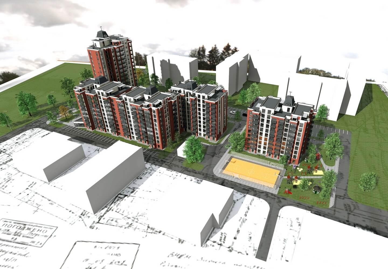 Проект многоквартирного дома (изображение 4)