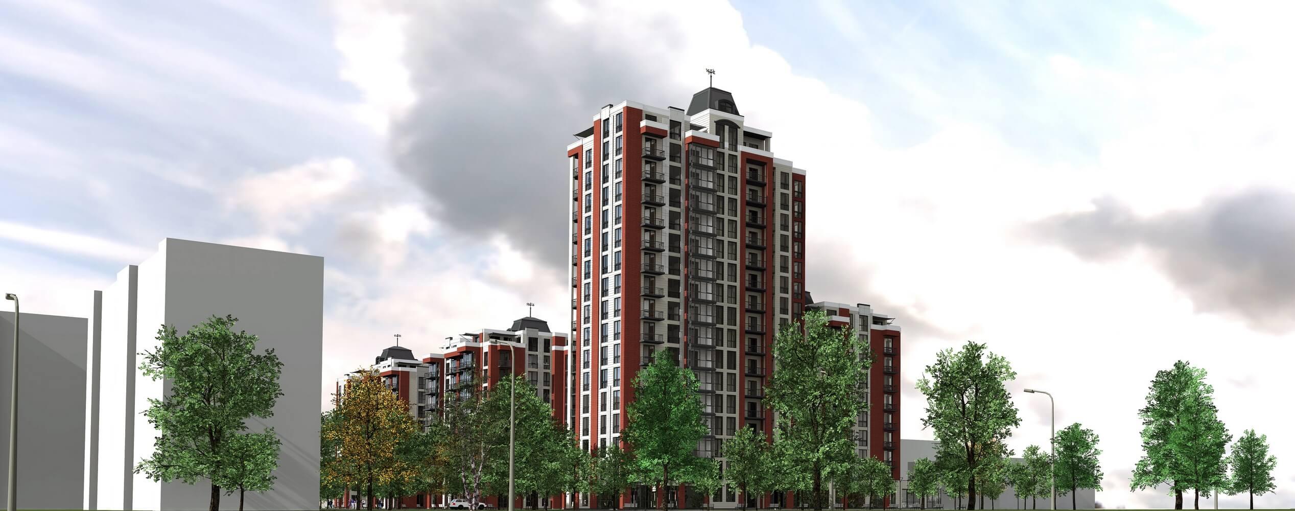 Проект многоквартирного дома (изображение 6)