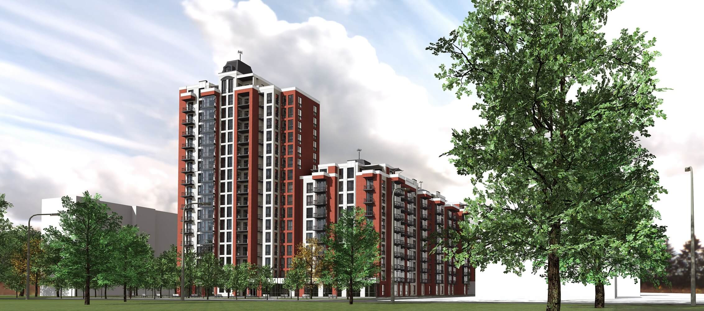 Проект многоквартирного дома (изображение 7)