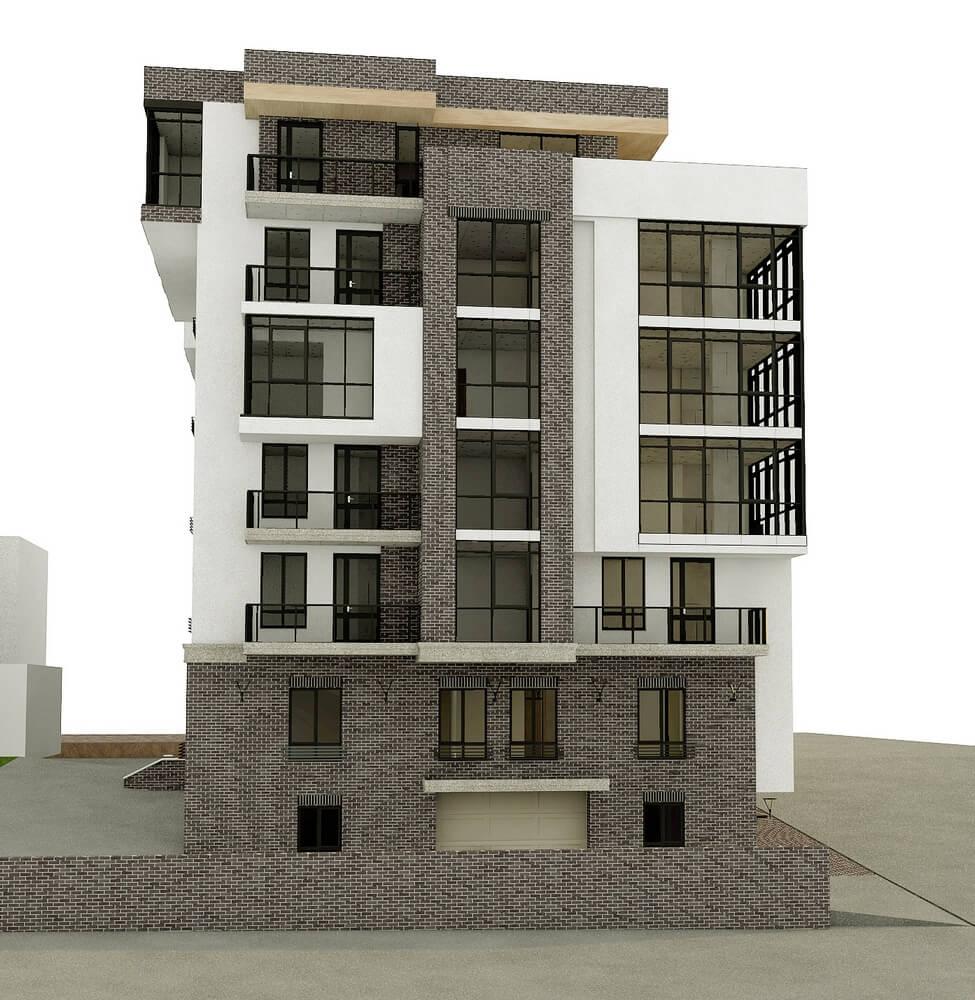 Оригинальный проект здания (изображение 1)