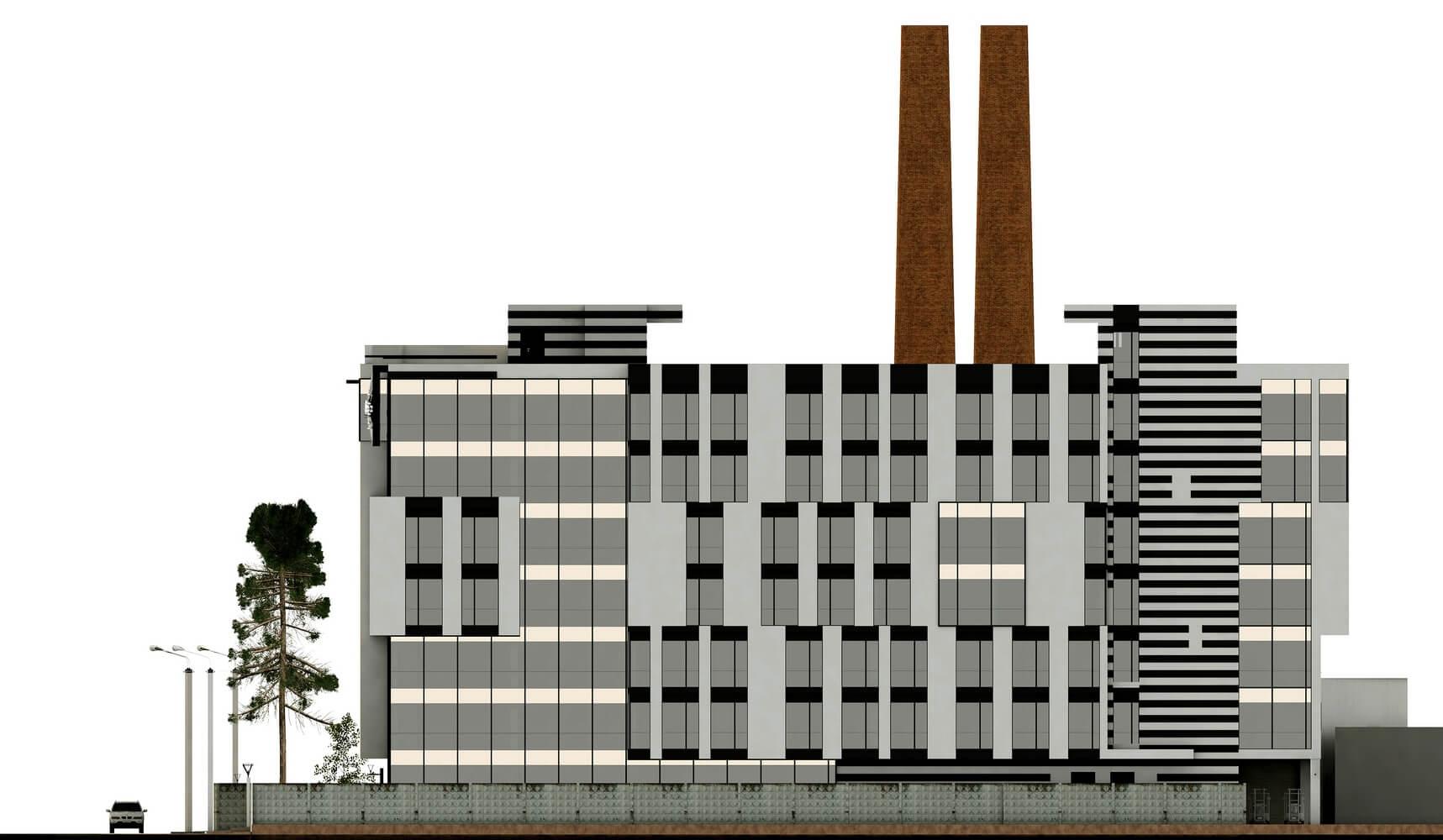 Проект офисного центра (изображение 7)