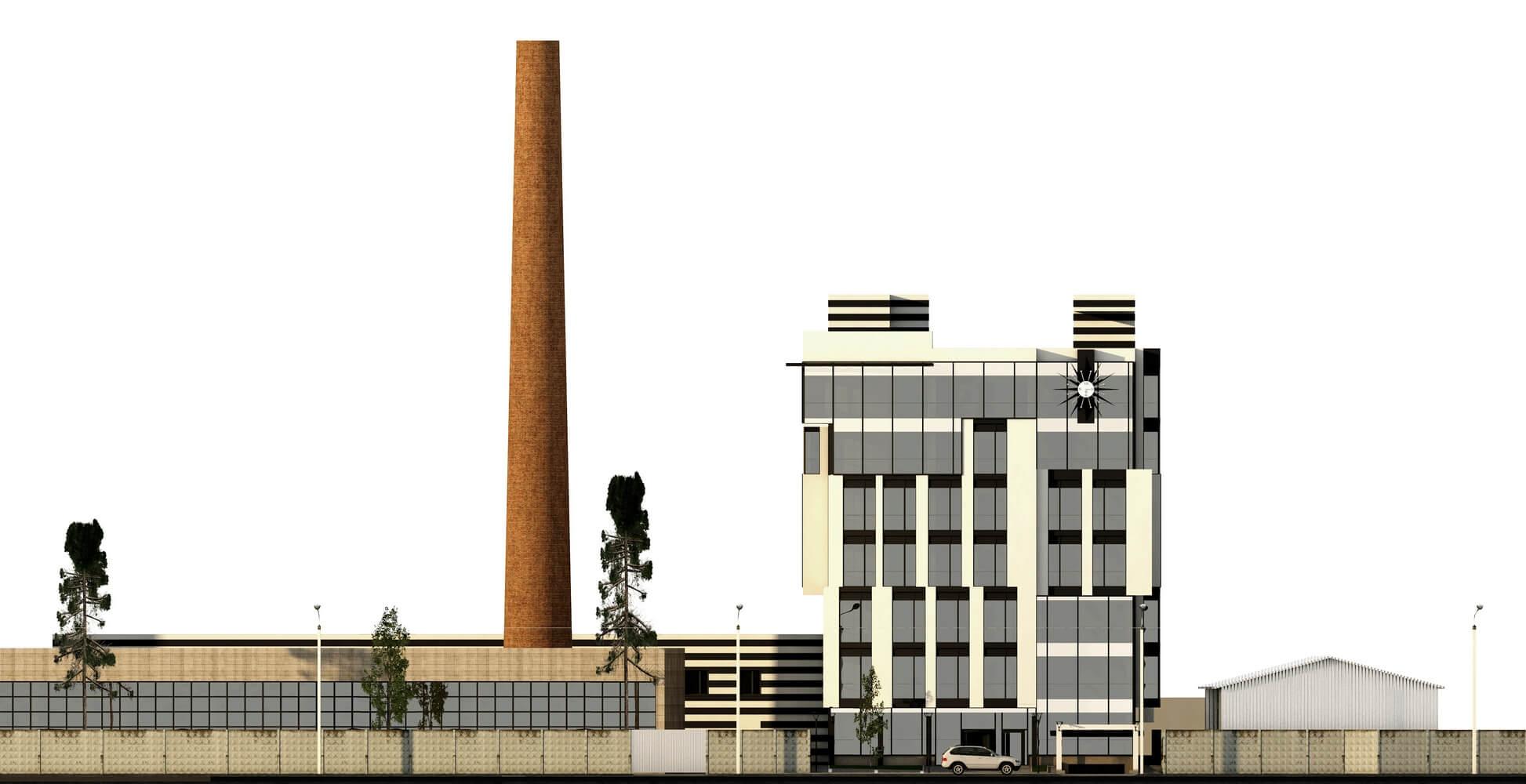 Проект офисного центра (изображение 8)
