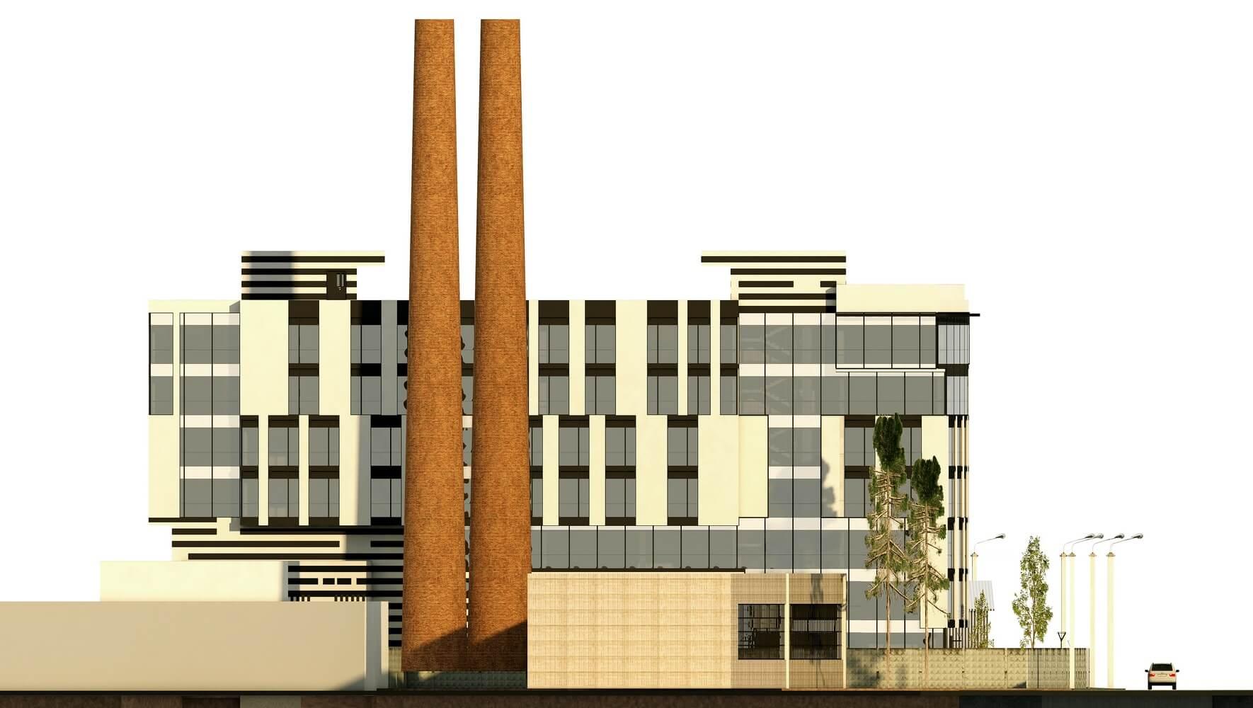 Проект офисного центра (изображение 10)