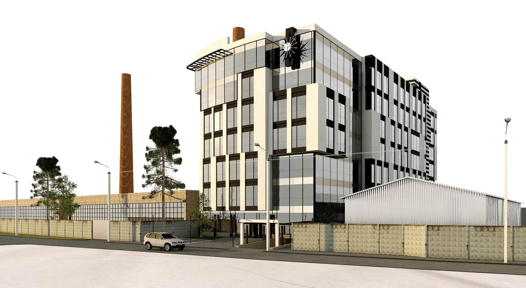 Проект офисного центра (изображение 11)