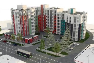 Проект многоэтажного дома (превью)