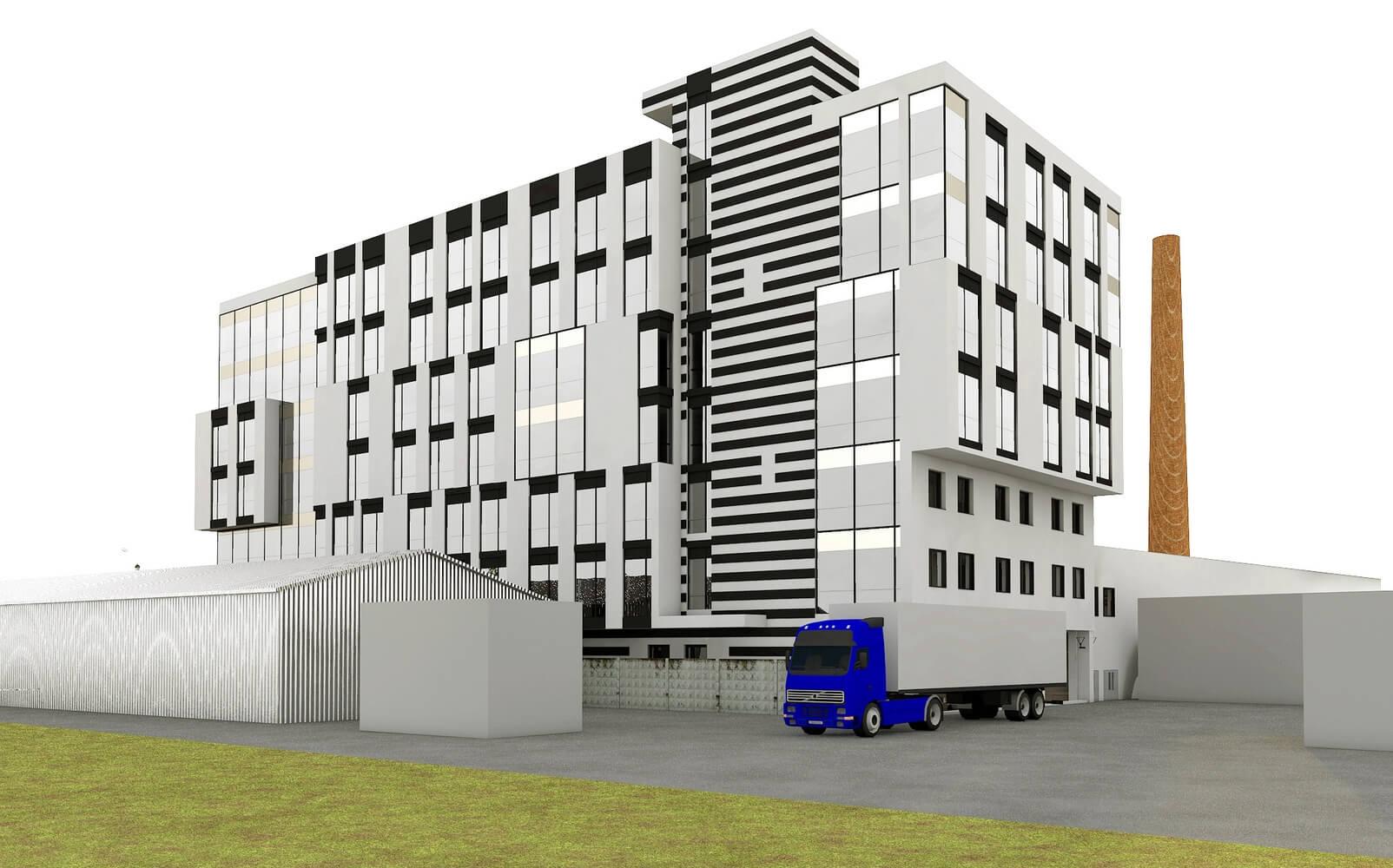 Проект офисного центра (изображение 3)