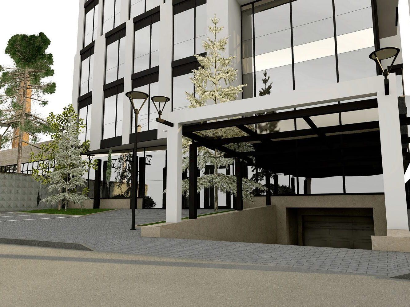Проект офисного центра (изображение 12)