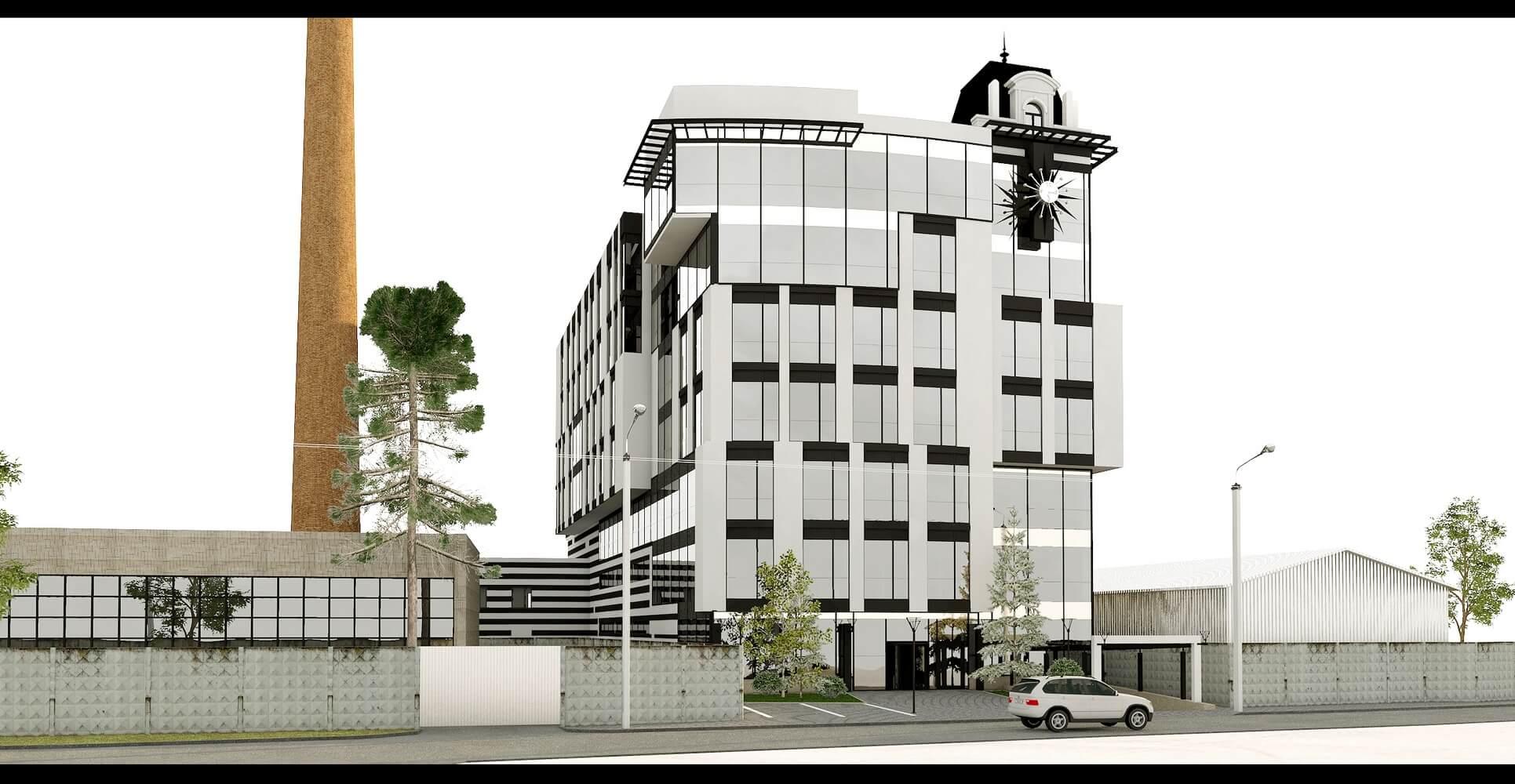 Проект офисного центра (изображение 6)