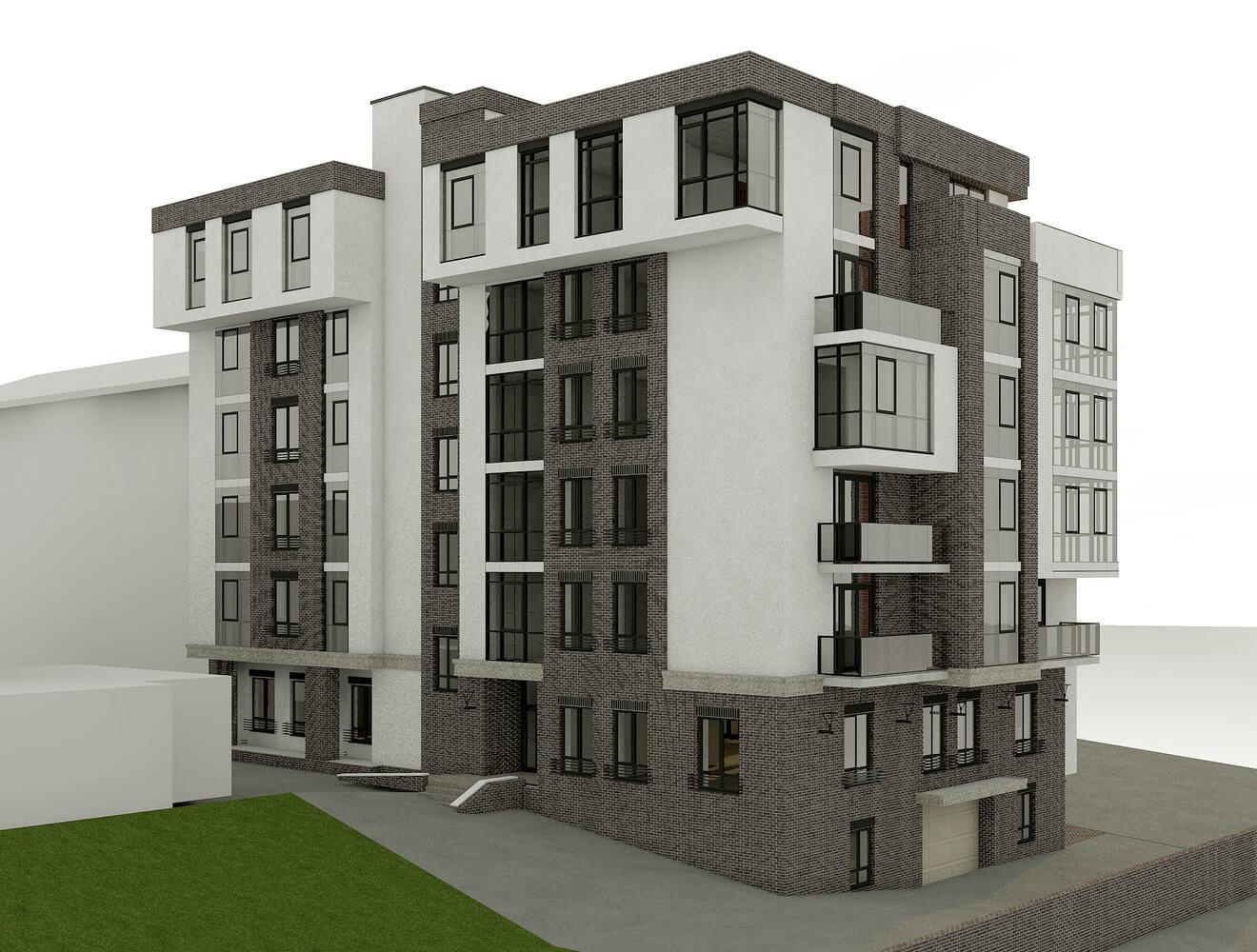Оригинальный проект здания (изображение 2)