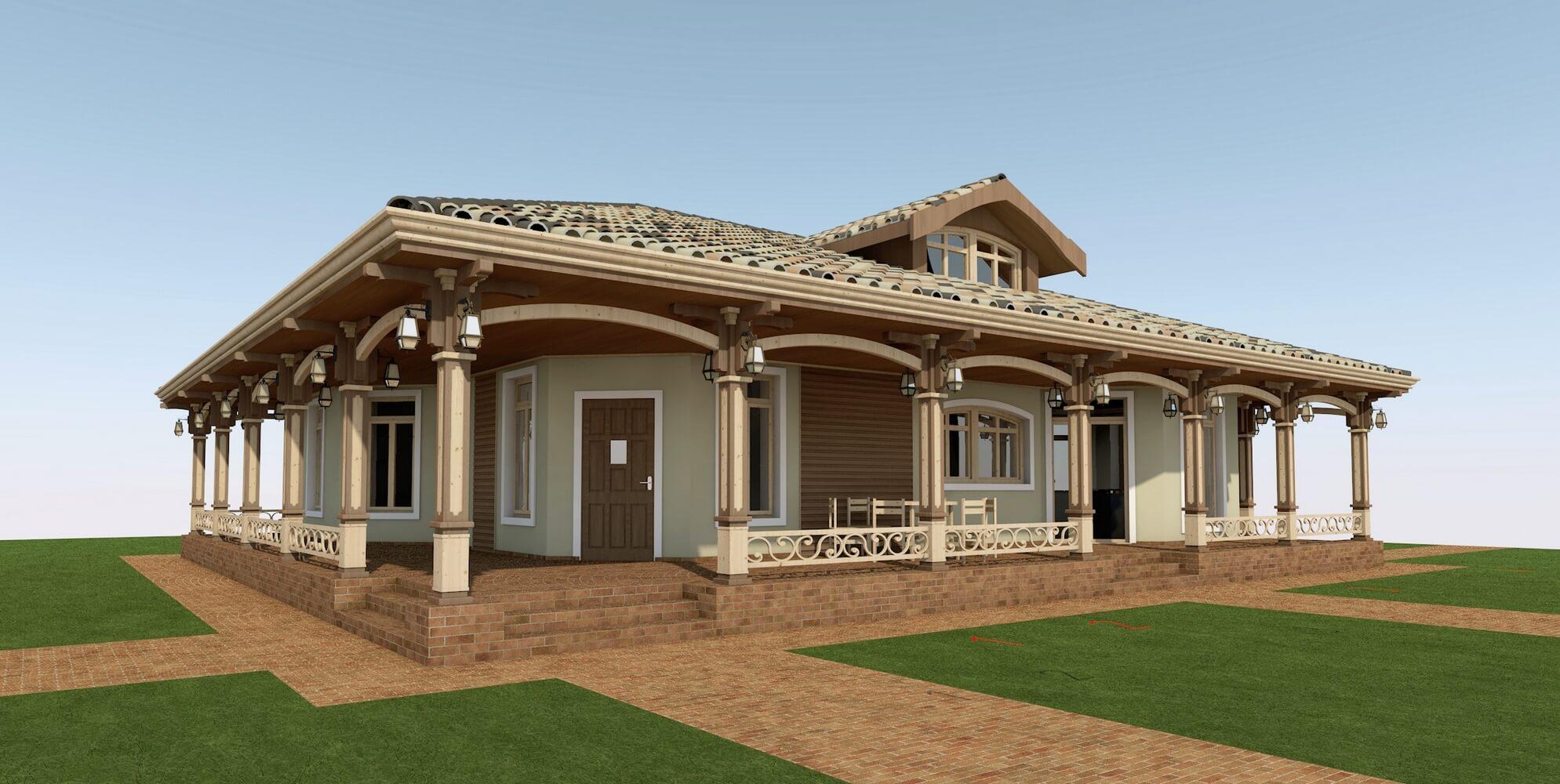 Проекты частных домов (изображение 6)