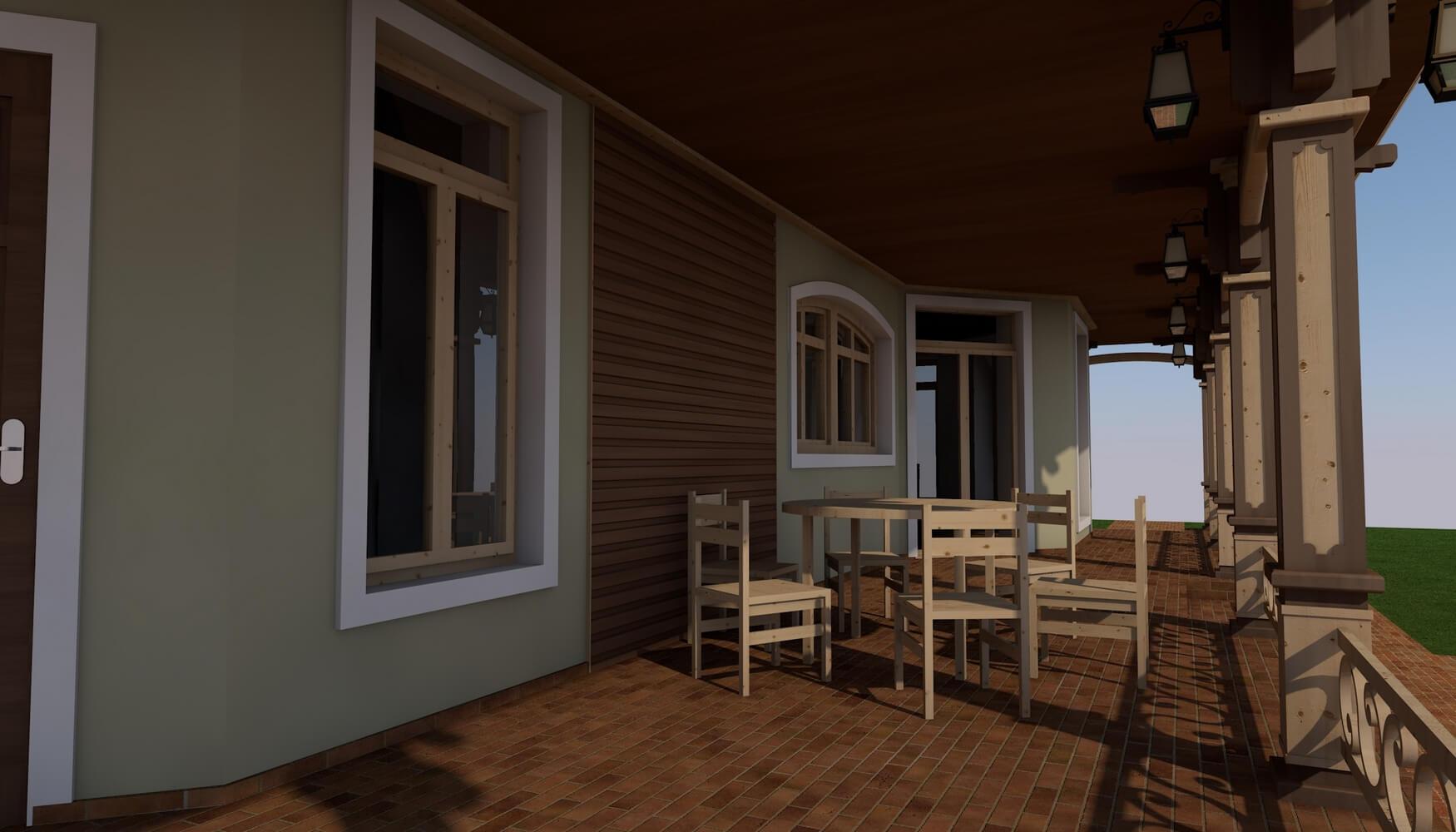 Проекты частных домов (изображение 9)