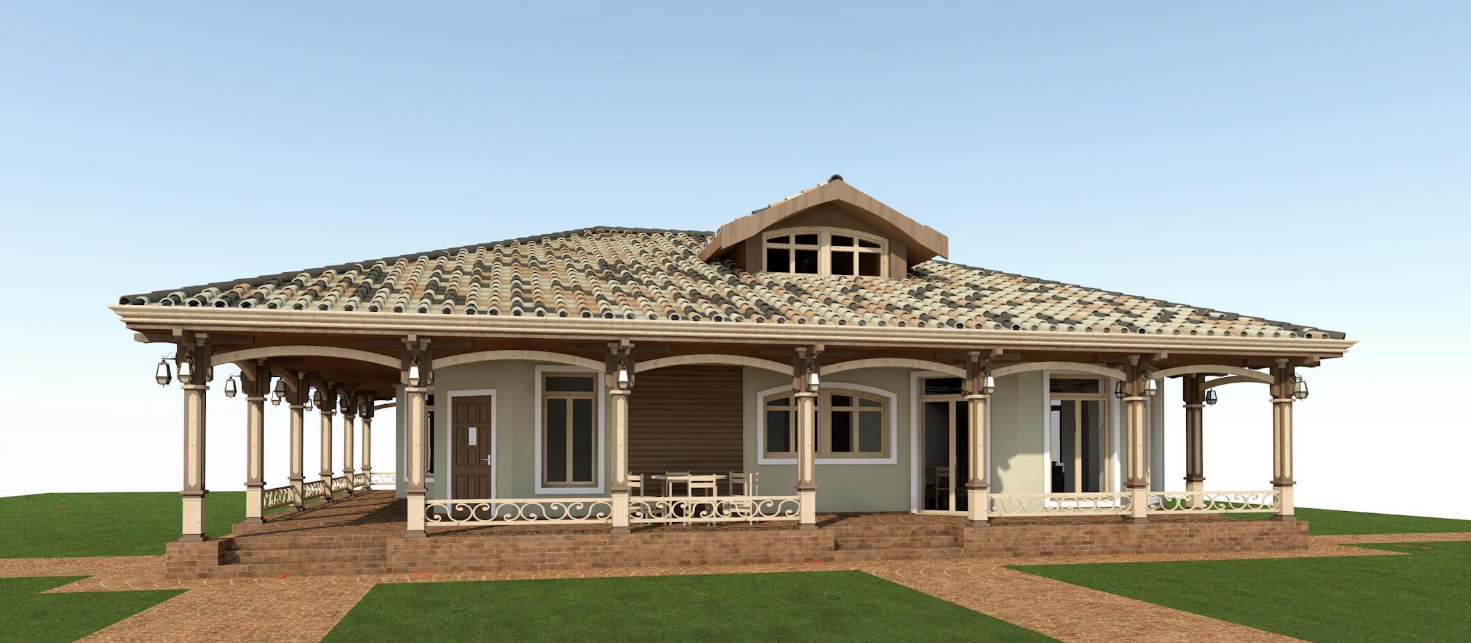 Проекты частных домов (изображение 10)