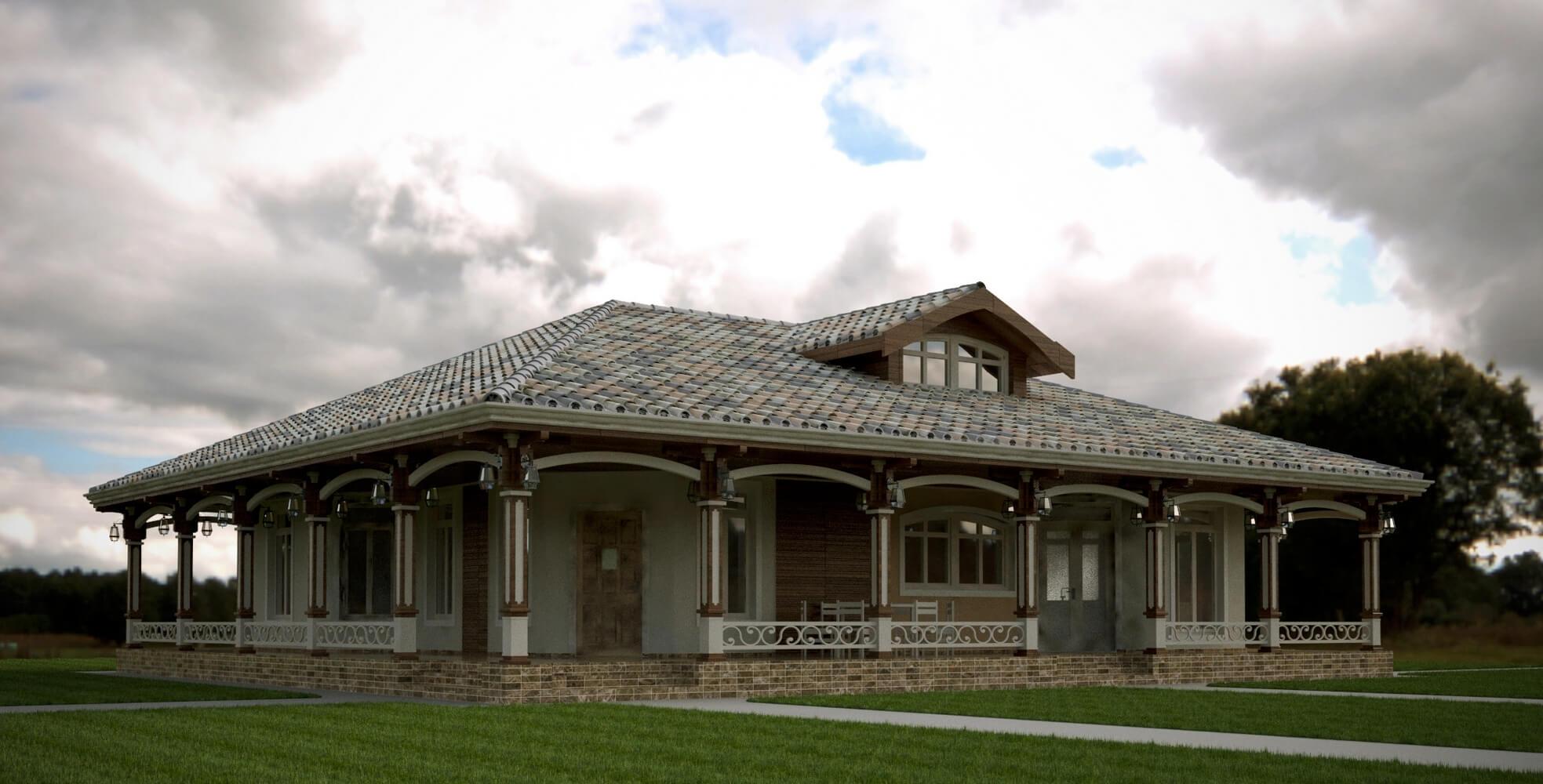 Проекты частных домов (изображение 12)