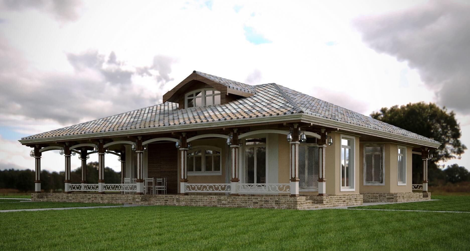 Проекты частных домов (изображение 13)