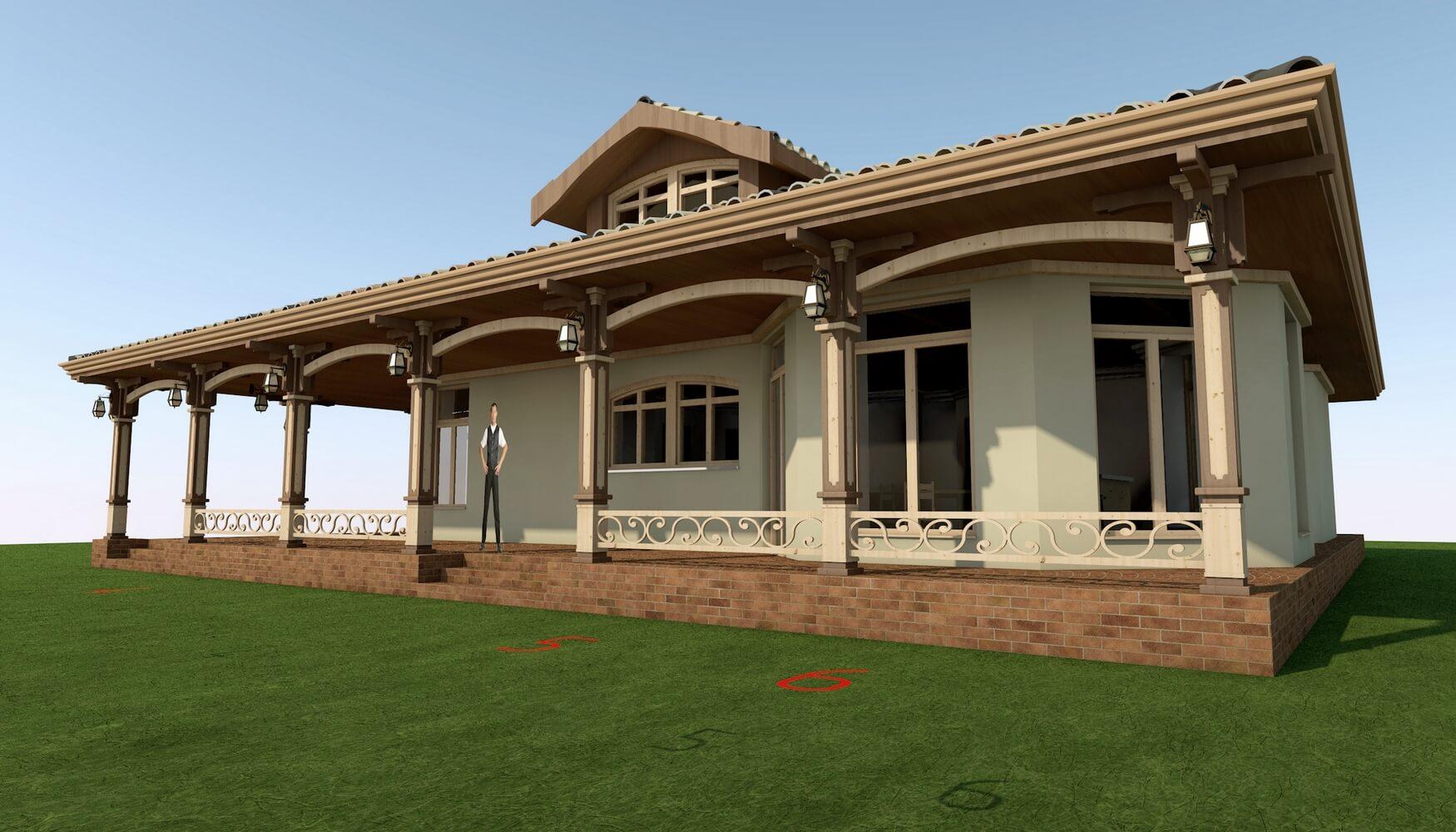 Проекты частных домов (изображение 4)