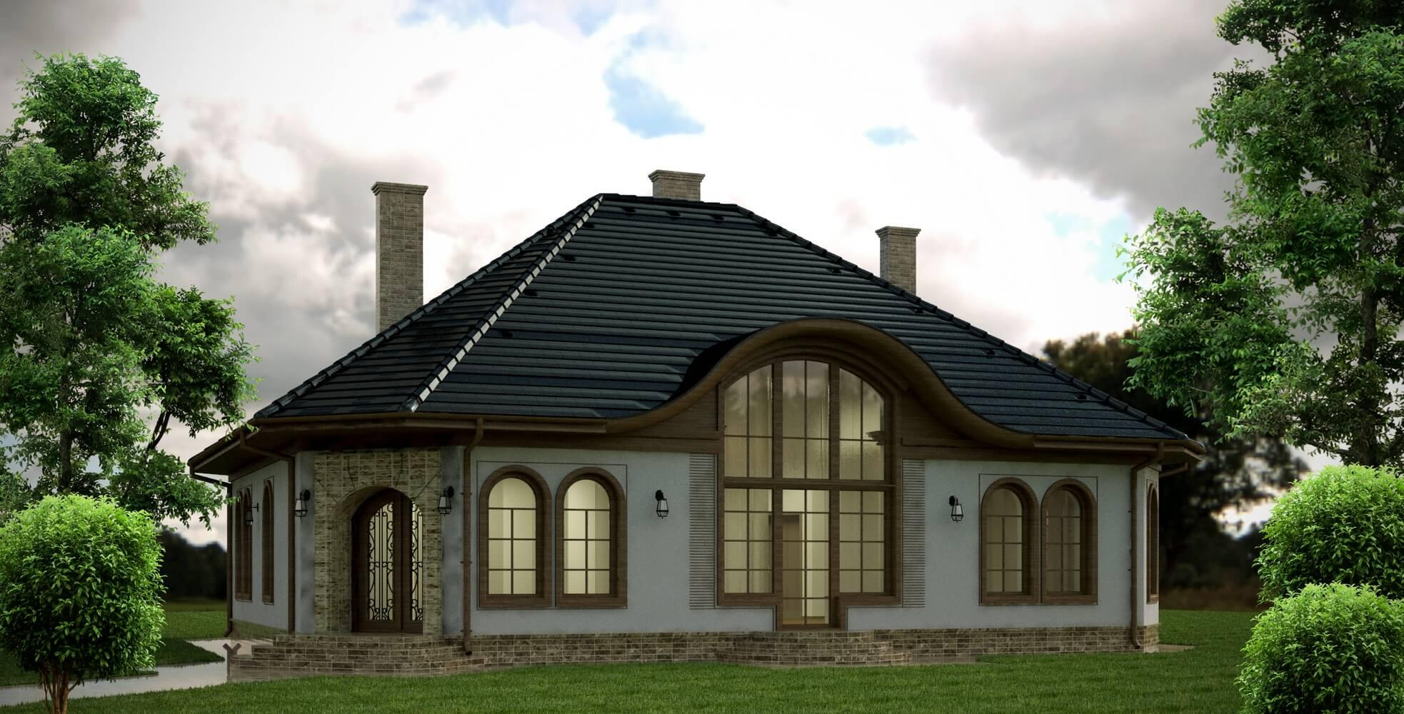 Проекты частных домов (изображение 14)