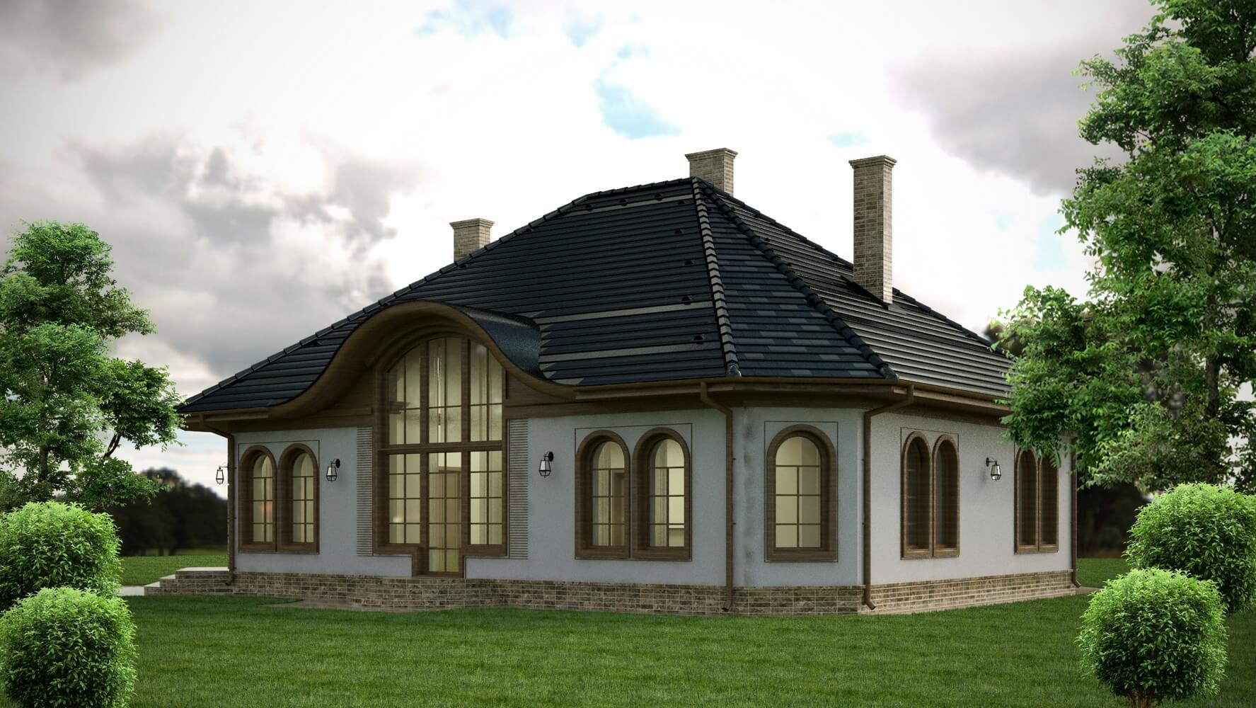 Проекты частных домов (изображение 15)