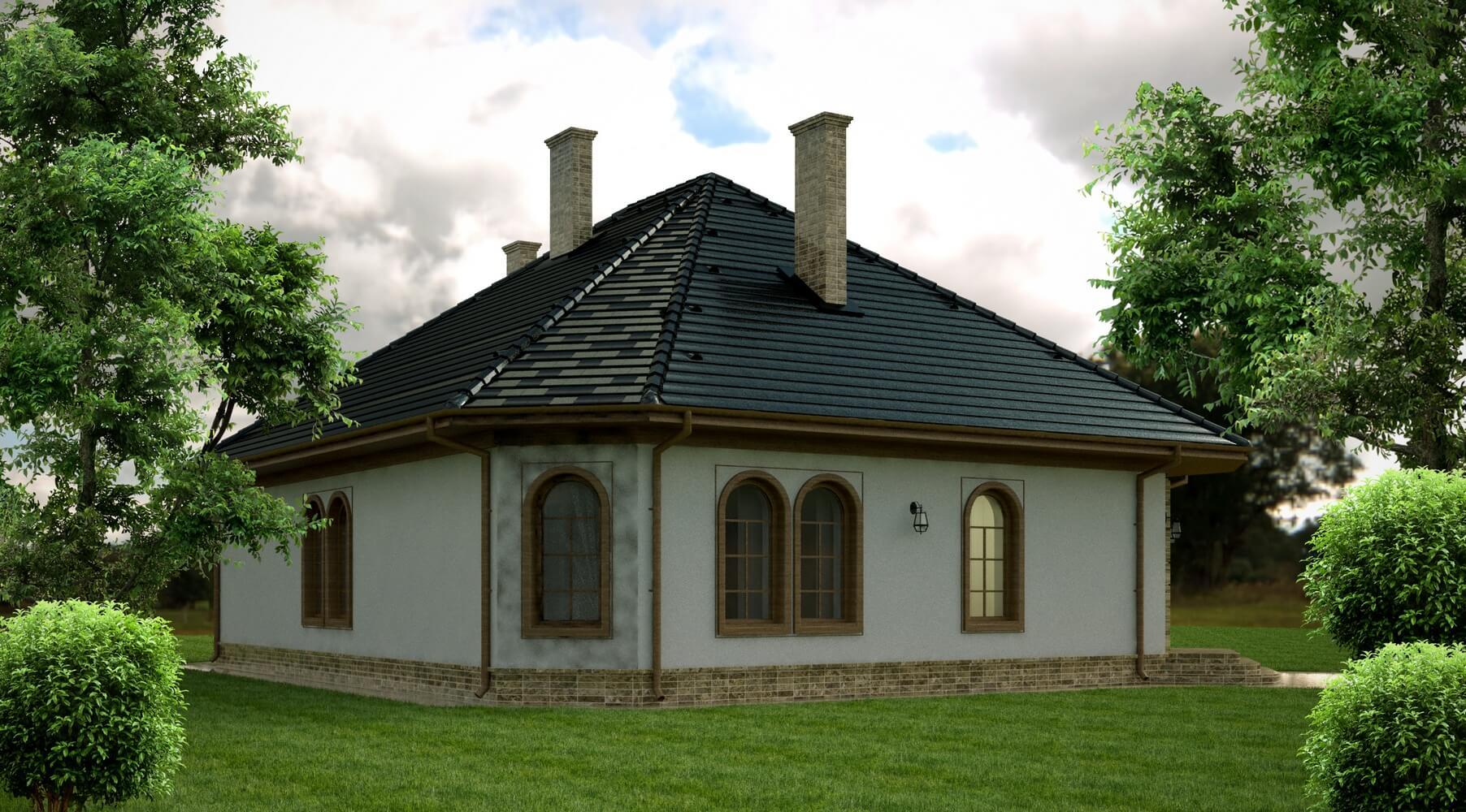 Проекты частных домов (изображение 16)