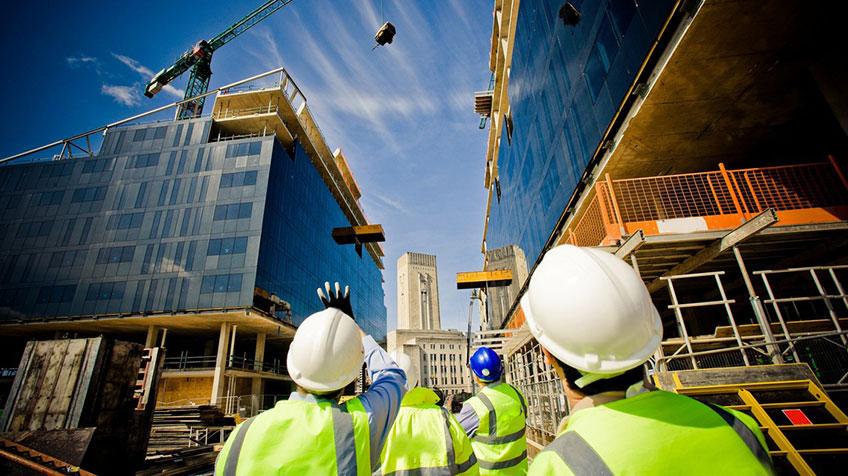Фирма по строительству. Фото с объекта