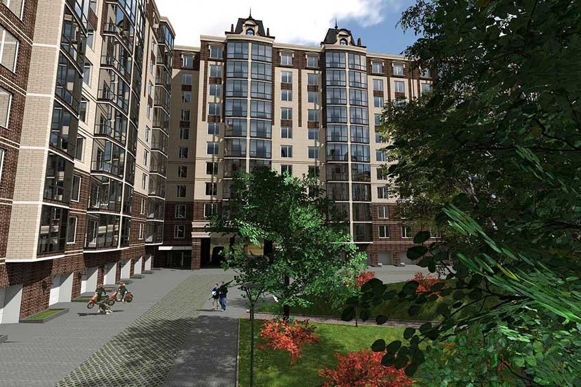Проектирование жилых зданий. Фото проекта