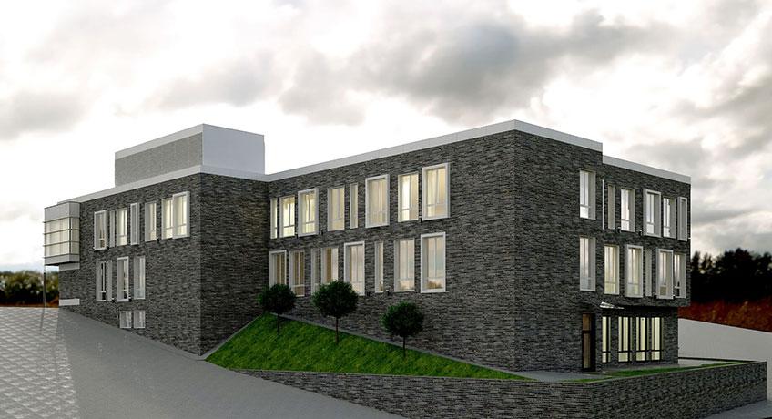 Строительство медицинских учреждений. Проект объекта