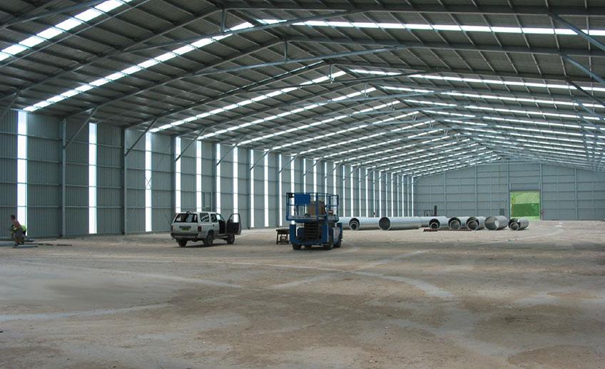 Строительство промышленных предприятий (фото)