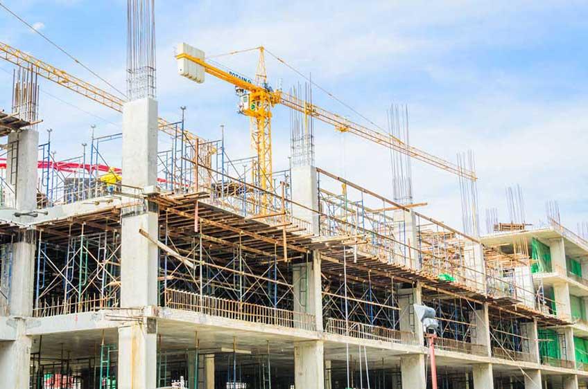 Строительство промышленных сооружений (фото)
