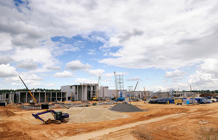 Строительство спортивных комплексов (фото)