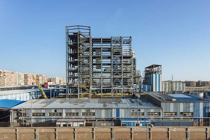 Промышленное строительство в Виннице. Фото объекта
