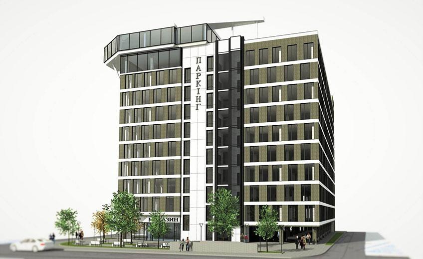 Проект многоэтажного здания
