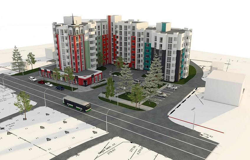 Новая квартира в Виннице. Проект многоэтажного дома