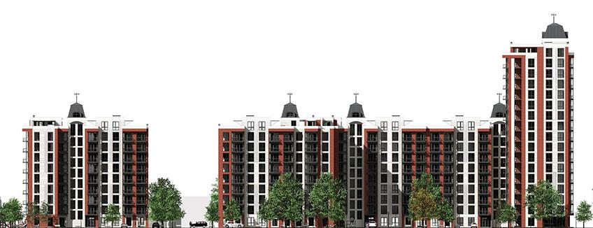 Новые квартиры в Виннице. Проект нового дома