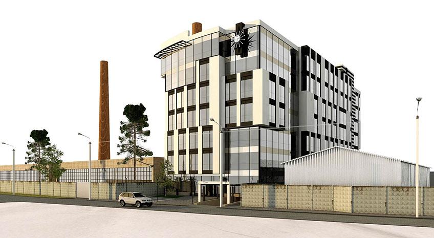 Проектирование и строительство монолитных зданий. Проект здания