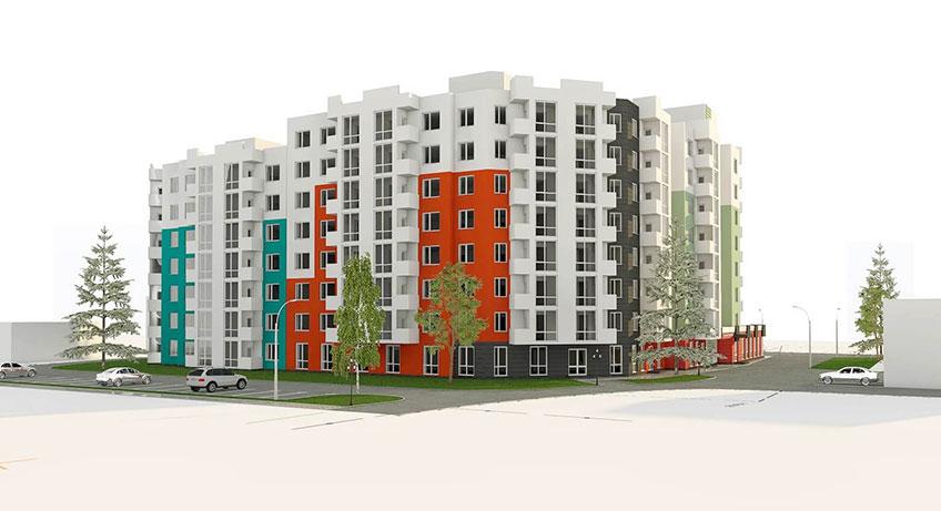 Строительство жилых домов в Украине. Проект дома